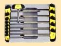 Набор отвёрток-торксов Т-образных 14пр.(Т6-Т55)