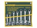 Набор накидных мини-ключей 45о (7пр)