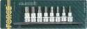 """3/8"""" Набор бит шестигранных на головке 8пр Н4-Н12  50мм"""