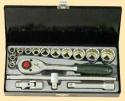 """1/2"""" Н-р инструмента 16 пр., 12-гр.: 10-32мм, в мет. кейсе"""
