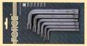 Н-р ключей Г-образных торкс с отверстием 6 пр., Т40H-60H