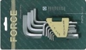 Набор ключей шестигранных 10пр. 1,27-10мм