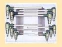 Набор ключей Г-обр. 6 гр. 10 пр. Н2-Н12 пласт. Ручка пластмасс.