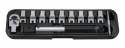 Ключ динамометрический со сменными гаечными насадками (12пр)