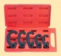 Набор ключей для регулировки рулевых тяг 5 пр. пласт. кейс