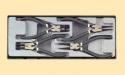 Н-р съёмников стопорных колец 4пр (ф1,8мм)